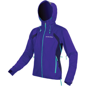 Endura MT500 II Waterproof Jacket Women Cobalt Blue